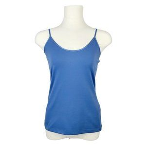 4/$30 RW&CO Blue Fitted Cami Medium